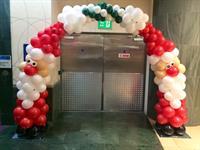Santa Balloon Arch
