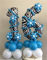 Customized Number Balloons