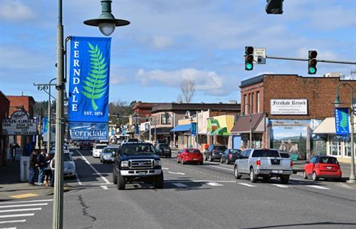 Ferndale, WA Main Street Downtown