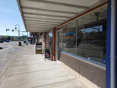 SafeWest Storefront on Main Street in Ferndale, WA