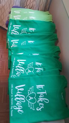 St. Patrick's Day Parade Group shirts