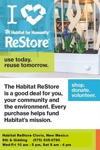 Habitat ReStore Clovis - Your Home Improvement Thrift Store