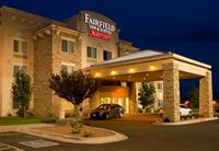 The newly-renovated Fairfield Inn and Suites is located 3 miles north of US 84 and 60. Close to several restaurants like Chilis, Applebees, Rib Crib, and Cotton Patch. In walking distance to Colonial Park Country and 5 miles from Cannon Air Force Base.