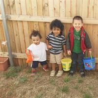 Kids for Easter.