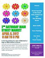 2nd Saturday Main Street Market Vendor Showcase
