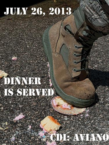 Example: Military Dinner Flyer