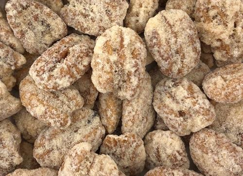 Praline Frosted Pecans.
