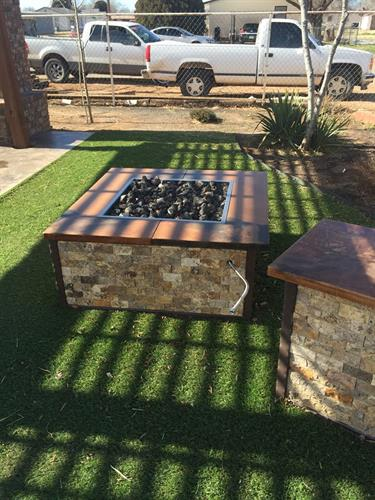 Fire pits available