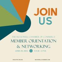 Member Orientation & Networking