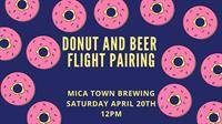 Donut and Beer Flight Pairing