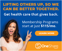 Health-Sharing Ministries. OneShare stands above the rest.