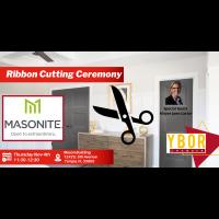 Masonite Ribbon Cutting