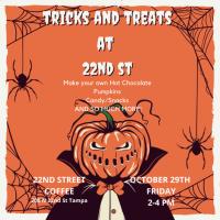 Tricks and Treats at 22nd Street