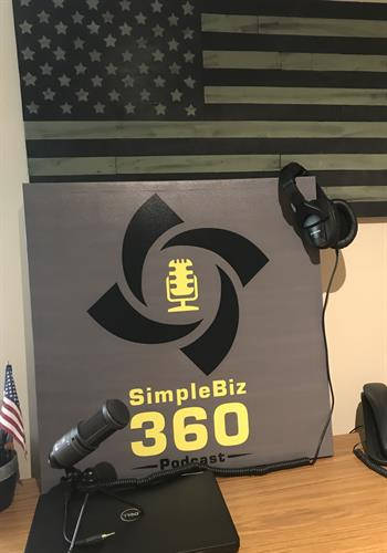 The SimpleBiz360 Podcast Logo.