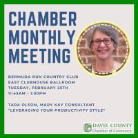 LOCATION CHANGE - Chamber Monthly Meeting