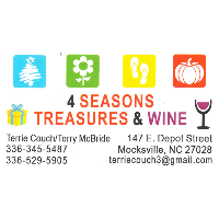 Ribbon Cutting for 4 Seasons Treasures & Wine