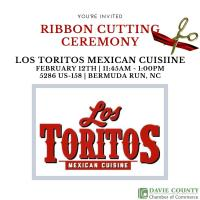 Ribbon Cutting & Let's Do Lunch for Los Toritos Mexican Cuisine