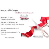 Ribbon Cutting for Blackburn Consulting, LLC