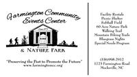Farmington Community Events Center
