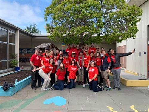Giving back - Keller WIlliams Red Day