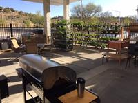 Metzger's White Rock Patio Display