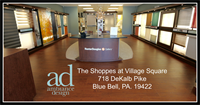 Our showroom located in The Shoppes at Village Square 718 DeKalb Pike, Blue Bell, PA. 19422