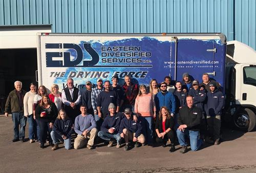 Group Photo of some of our EDS Employees!