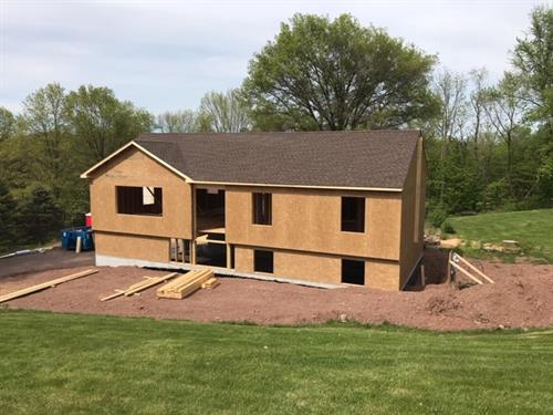 New Single Family Home Construction