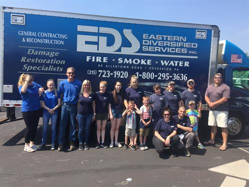 EDS Employees Volunteering in the Community