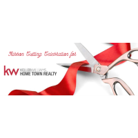 Ribbon Cutting for Keller Williams Home Town Realty