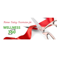 Ribbon Cutting for Wellness 360