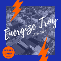 Energize Troy - 3 Day Shopping Event
