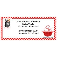 Take Out Hunger - First Place Food Pantry