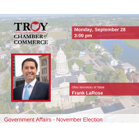 Government Affairs Call with Ohio Secretary Frank LaRose