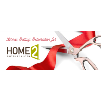 Ribbon Cutting for Home 2 Suites