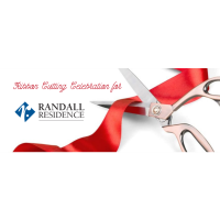 Ribbon Cutting for Randall Residence of Troy
