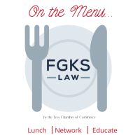 On the Menu... Legal Update with FGKS Law