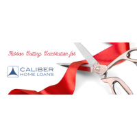 Ribbon Cutting for Caliber Home Loans