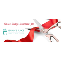 Ribbon Cutting for Isaiah's Place