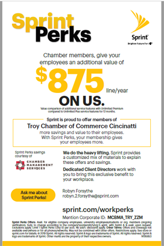 Chamber Members Save Big with Sprint!