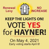 Chamber Proud to Endorse Hayner Levy