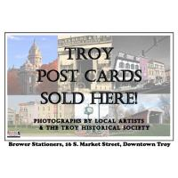 BROWER STATIONERS UPDATES ITS TROY POSTCARD COLLECTION