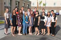 2016 State of Education Scholarship recipients