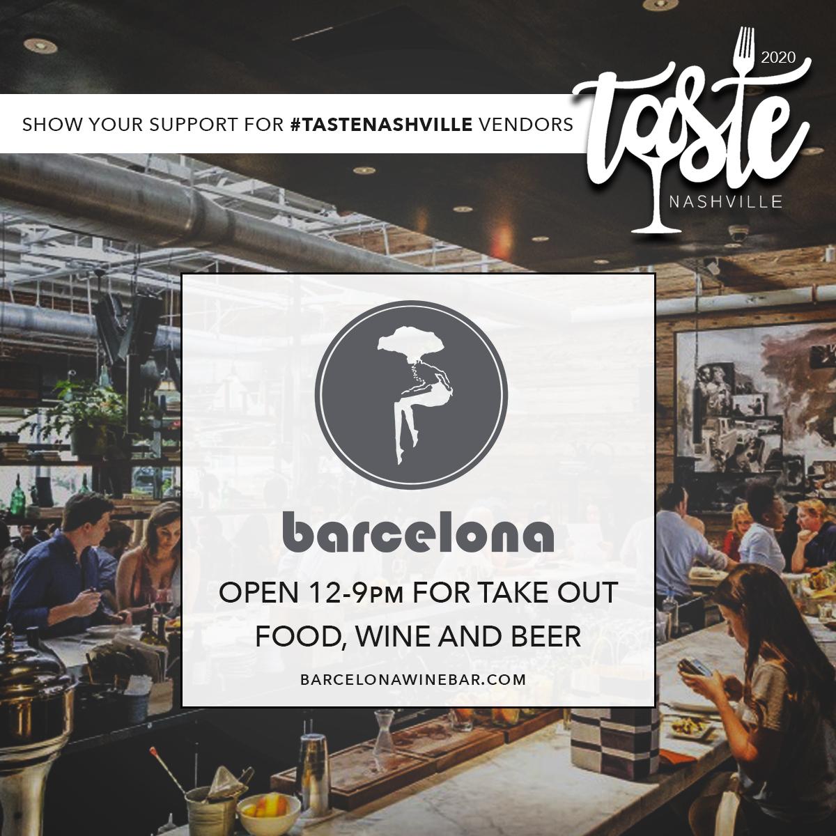 Support Barcelona Wine Bar
