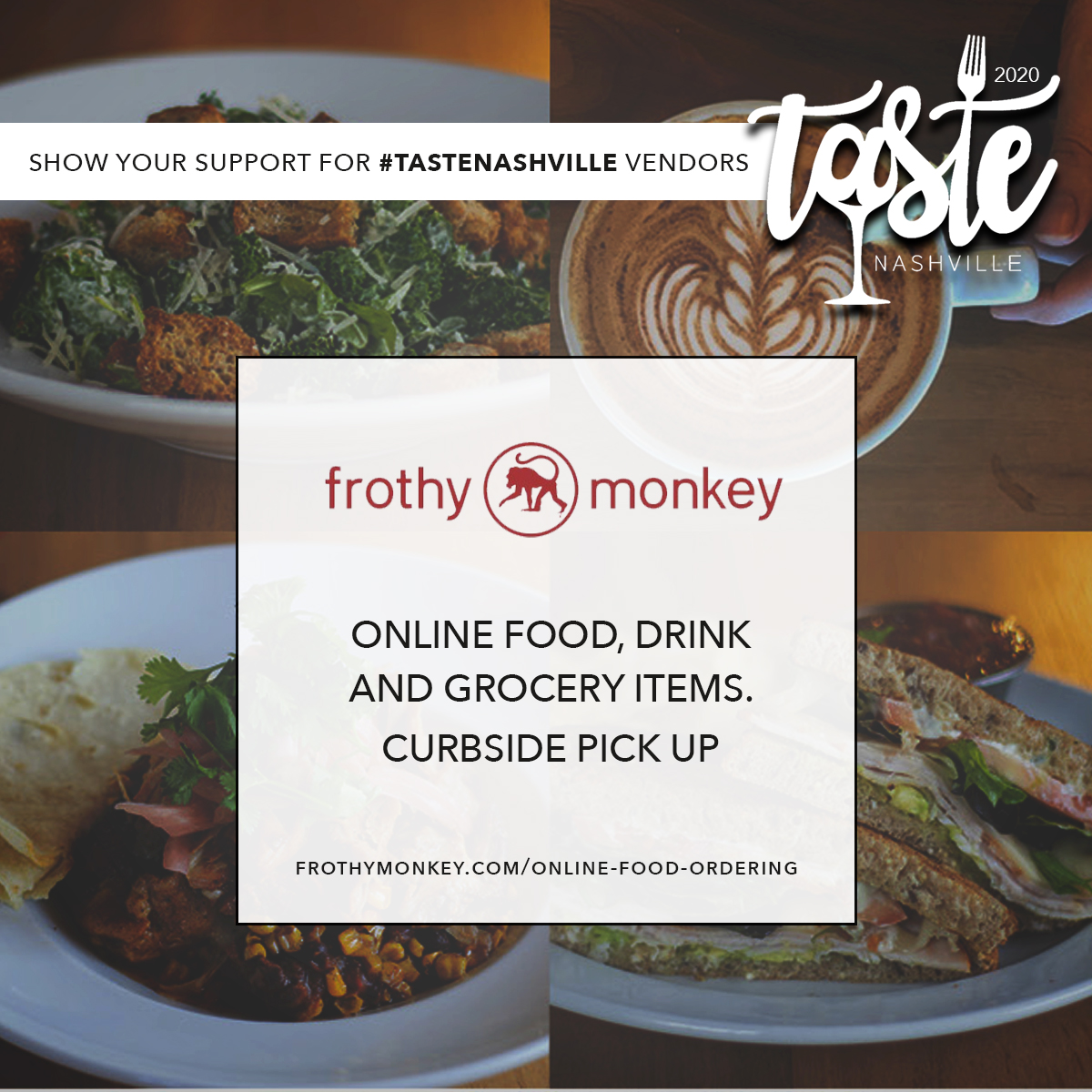 Support Frothy Monkey