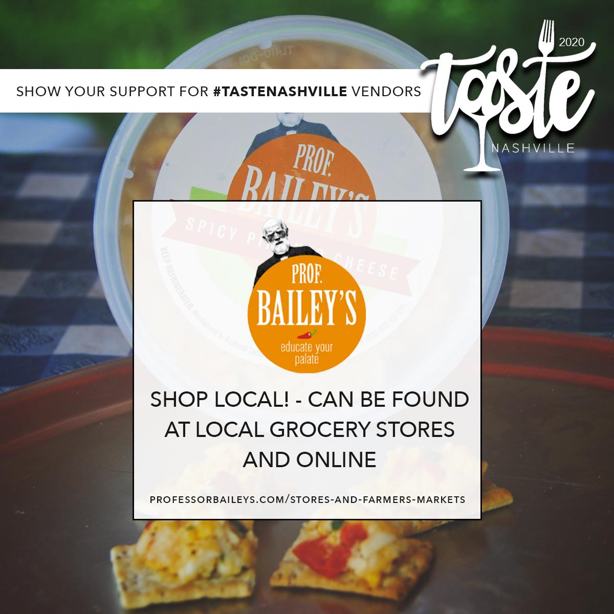 Support Professor Bailey's Pimento Cheese