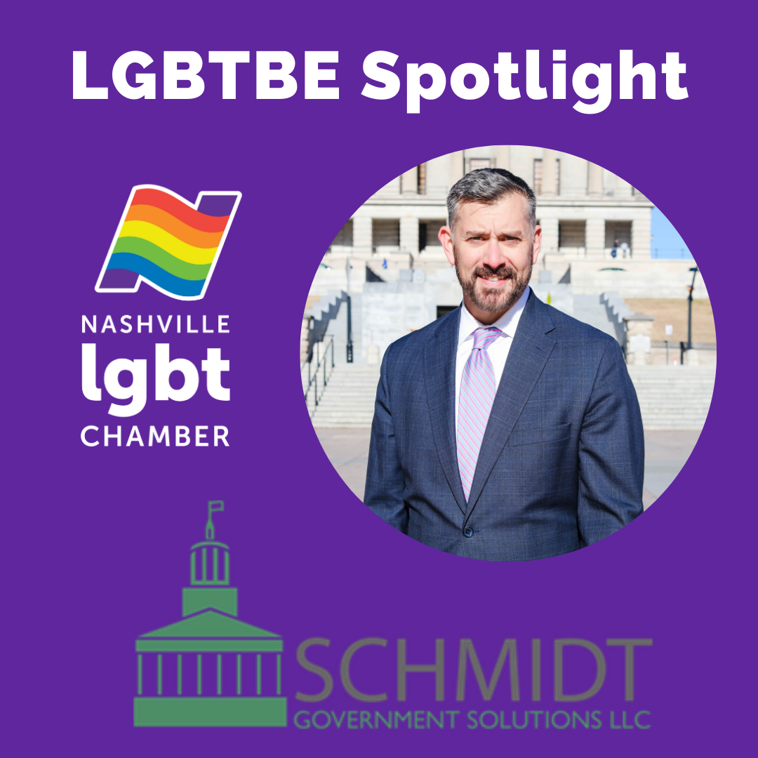 LGBTBE Spotlight: Schmidt Government Solutions