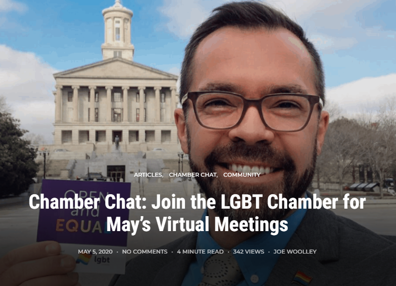 Chamber Chat: may + june 2020