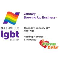 Nashville LGBT Chamber  - January Brewing Up Business- Clean Eatz