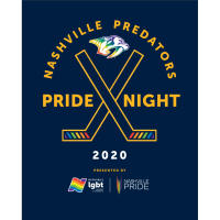5th Annual Predators Pride Night - Pre-Reception and Game